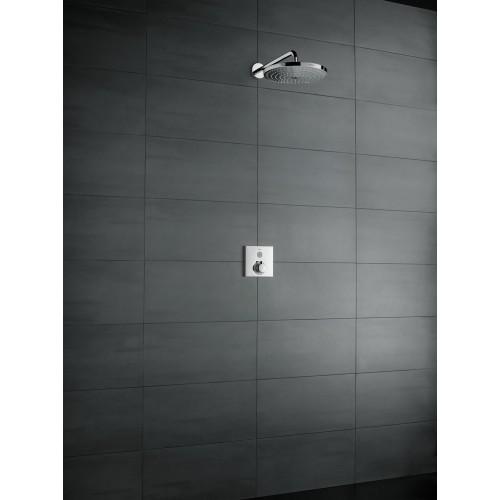 фото - Верхній душ hansgrohe Raindance Select S 240 2jet з тримачем 390 мм, хром 26466000