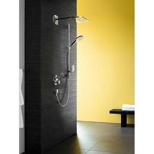 фото - Верхній душ hansgrohe Raindance E 430 AIR 1jet, хром 27372000