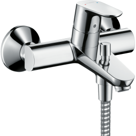 Змішувач hansgrohe Focus для ванни одноважільний, хром 31940000