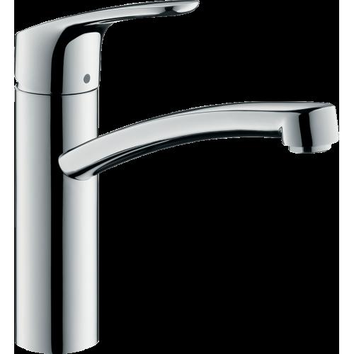 фото - Змішувач hansgrohe Focus для кухонної мийки з поворотним гусаком, хром 31806000