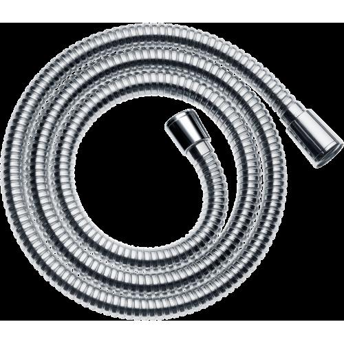 фото - Душовий шланг hansgrohe Sensoflex із захистом від перекручування 160 см, хром 28136000