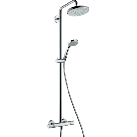 Душевая система hansgrohe Croma 220 Showerpipe с термостатом 27185000