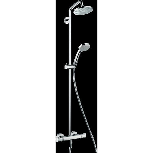 фото - Душевая система hansgrohe Croma 160 Showerpipe с термостатом 27135000
