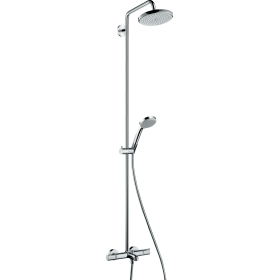 Душевая система hansgrohe Croma 220 Showerpipe с термостатом 27223000