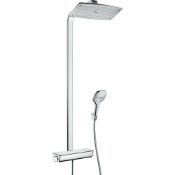 Душевая система hansgrohe Raindance Select E 360 Showerpipe с термостатом, хром 27112000