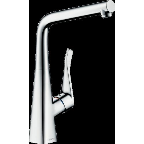 фото - Змішувач hansgrohe Metris для кухонної мийки 14823000
