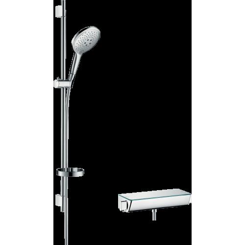фото - Душовий набір hansgrohe Ecostat Select/Raindance Select S 150 3jet/Combi 27037000