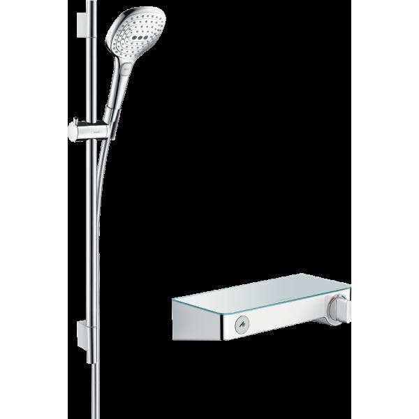 фото - Душевой набор hansgrohe ShowerTablet Select 300/Raindance Select E 120 3jet/Combi 27026400