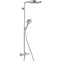 Душевая система hansgrohe Raindance Select S 240 2jet Showerpipe с термостатом 27129400