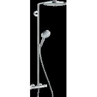 Душевая система hansgrohe Raindance Select S S300 2jet Showerpipe с термостатом 27133000