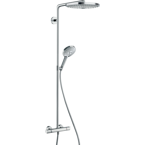 фото -  Душова система hansgrohe Raindance Select S S300 2jet Showerpipe с термостатом 27133000