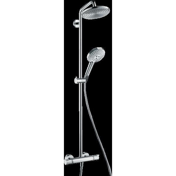 фото - Душевая система hansgrohe Raindance Select S 240 Showerpipe с термостатом, хром 27115000