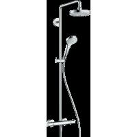 Душевая система hansgrohe Croma Select S 180 2jet с термостатом 27253400