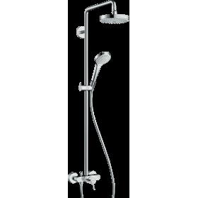 Душова система hansgrohe Croma Select S 180 2jet з змішувачем 27255400
