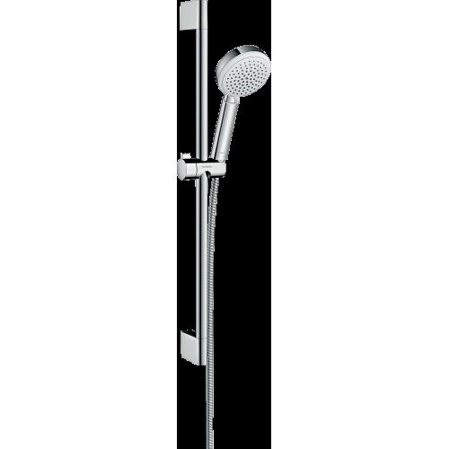 фото - Душовий набір hansgrohe Crometta 100 Vario 65, білий/хром 26651400