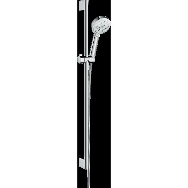фото - Душевой набор hansgrohe Crometta 100 Vario 90, белый/хром 26657400