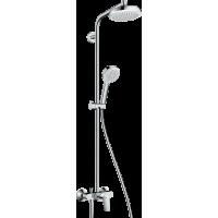 Душова система hansgrohe Crometta 160 1Jet з змішувачем 27266400