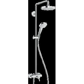 Душевая система hansgrohe Croma Select E со смесителем 180 27258400