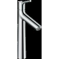 Смеситель hansgrohe Talis S для раковины с высоким изливом и сливным гарнитуром, хром 72031000