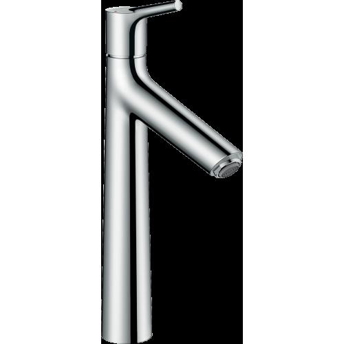 фото - Смеситель hansgrohe Talis S для раковины с высоким изливом и сливным гарнитуром, хром 72031000