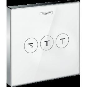 Переключатель потоков hansgrohe ShowerSelect Glass для душа 15736400