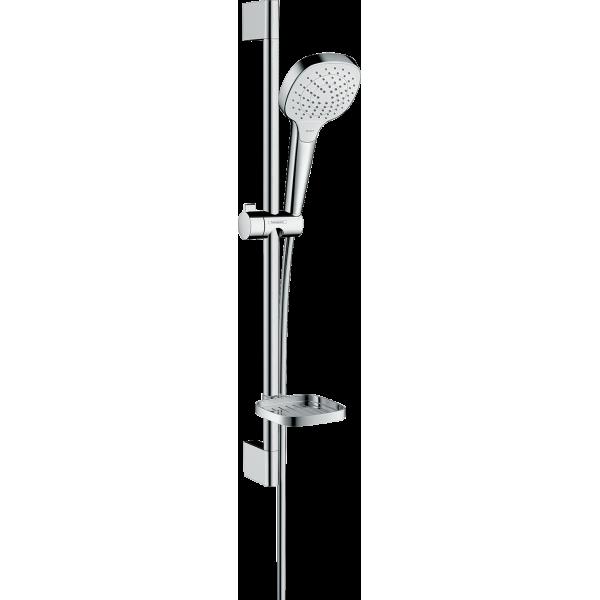 фото - Душевой набор hansgrohe Croma Select Е Vario и мыльницей Casetta 26586400