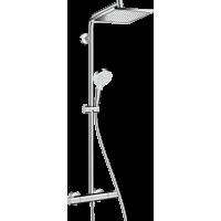 Душова система hansgrohe Crometta Е 240 1jet Showerpipe з термостатом 27271000
