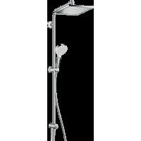 Душова система hansgrohe Crometta E 240 1jet Showerpipe Reno EcoSmart 27289000