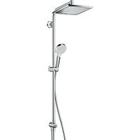 Душевая система hansgrohe Crometta E 240 1jet Showerpipe Reno EcoSmart 27289000