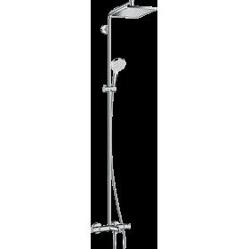 Душова система hansgrohe Crometta E 240 1jet Showerpipe з термостатом 27298000