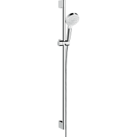Душевой набор hansgrohe Crometta Vario 90, белый/хром 26536400