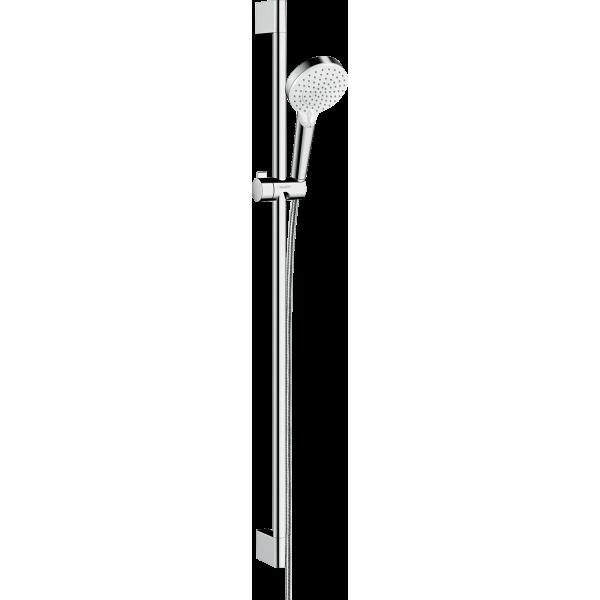 фото - Душевой набор hansgrohe Crometta Vario 90, белый/хром 26536400