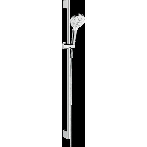 фото - Душовий набір hansgrohe Crometta Vario EcoSmart 90, білий/хром 26538400