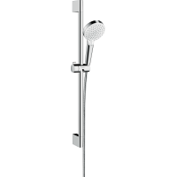 Душевой набор hansgrohe Crometta Vario EcoSmart 65, белый/хром 26534400