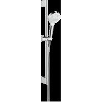 Душовий набір hansgrohe Crometta 1jet Green 65 см, білий/хром 26554400