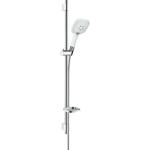 фото - Душовий набір hansgrohe Raindance Select E 150 Unica S Puro 90, білий/хром 27857400