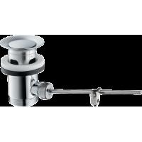 Донный клапан hansgrohe для раковины, хром 94139000