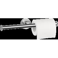 Держатель туалетной бумаги двойной Hansgrohe Logis Universal 41717000, без крышки