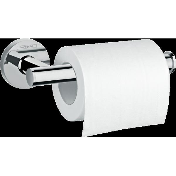фото - Держатель рулона туалетной бумаги без крышки Hansgrohe Logis Universal 41726000