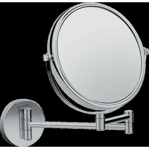фото - Косметическое зеркало Hansgrohe Logis Universal 73561000, трехкратное увеличение