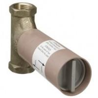 Скрытая часть запорного вентиля hansgrohe 15970180, расход воды 130 л/мин