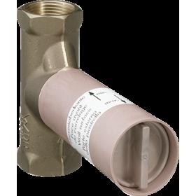 Прихована шпиндельна частина запірного вентиля hansgrohe 15973180, витрата води 52 л/хв