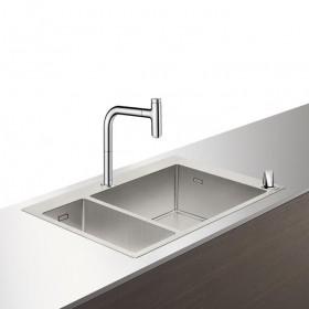 Кухонный комплект hansgrohe C71-F655-09, хром 43206000