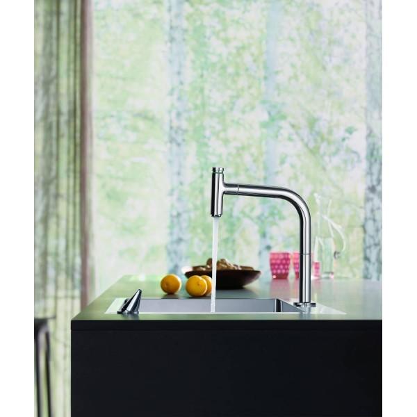 фото - Кухонный комплект hansgrohe C71-F450-06, сталь 43201800