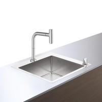 Кухонный комплект hansgrohe C71-F450-06, сталь 43201800