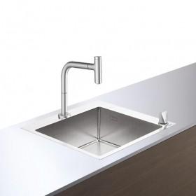 Кухонний комплект hansgrohe C71-F450-06, сталь 43201800