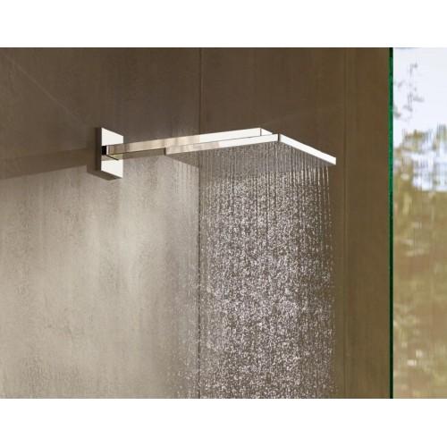 фото - Верхній душ hansgrohe Raindance E 300 1jet EcoSmart, хром 26239000