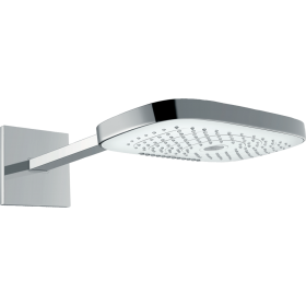 Верхний душ hansgrohe Raindance Select E 300 3jet, белый/хром 26468400
