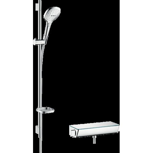фото - Душовий набір hansgrohe Ecostat Select/Raindance Select E 120 3jet/Combi 27039000