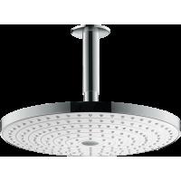 Верхній душ hansgrohe Raindance Select S 300 2jet стельовий, білий/хром 27337400
